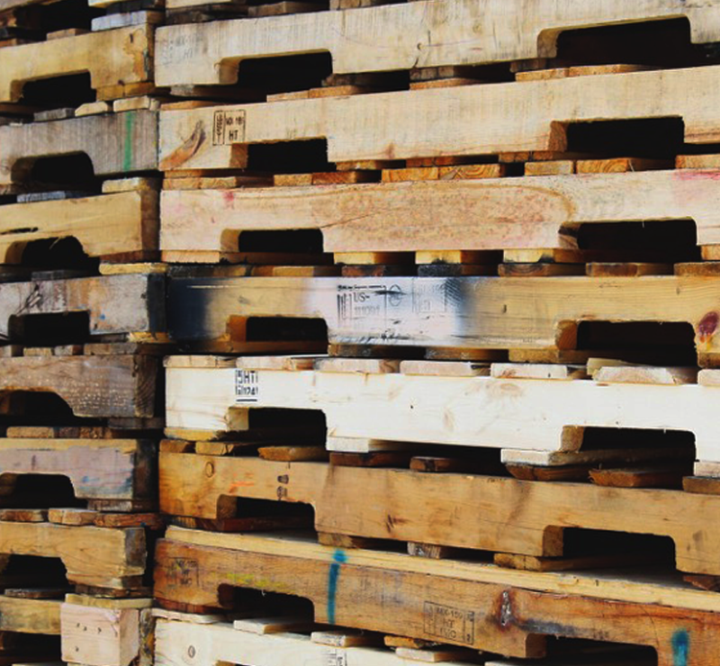 wood pallet recycling services RDU Pallets