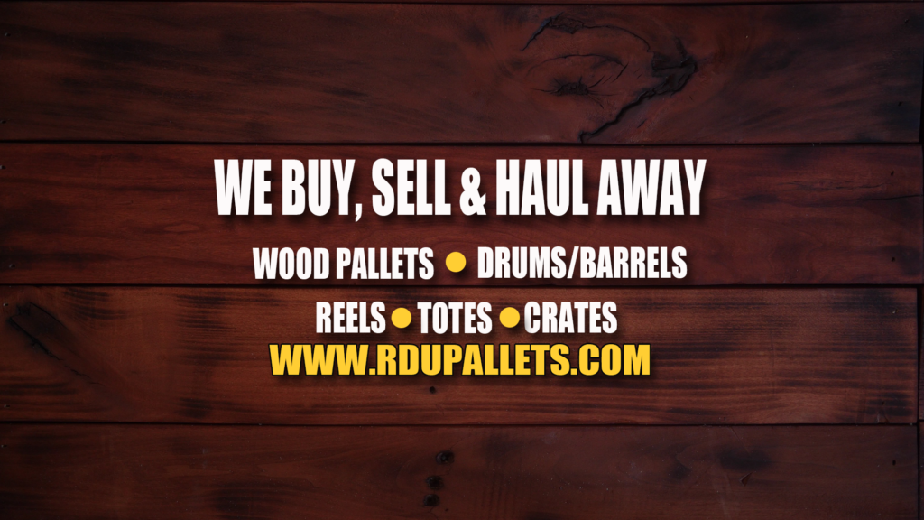 Where Can I Recycle Used Wooden Pallets - RDU Pallets